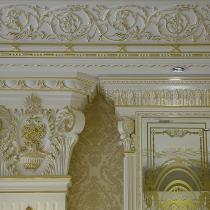 純金箔手工打造藝術線板