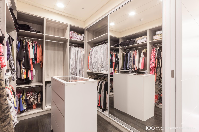 現代風更衣室