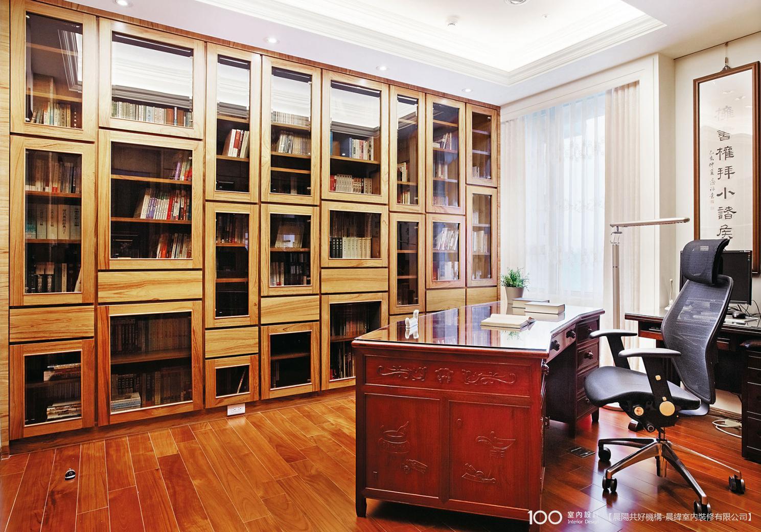 奢華風書房