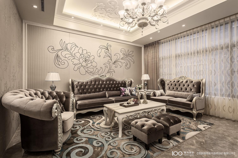 奢華風客廳