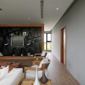 休闲多元风装修效果图:桃园C House