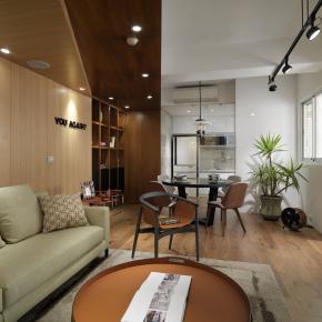 前卫风装修效果图:新竹 L House
