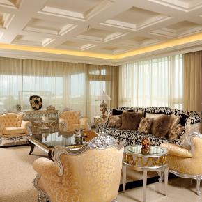 古典风装修效果图:低调奢华