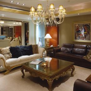 古典风装修效果图:豪放的古典豪宅