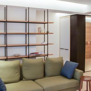 现代风装修效果图:原木白砖 静逸气韵