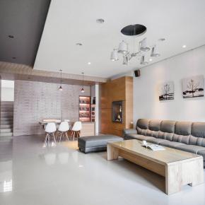 现代风装修效果图:新竹吴公馆