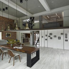 现代风装修效果图:雅之家