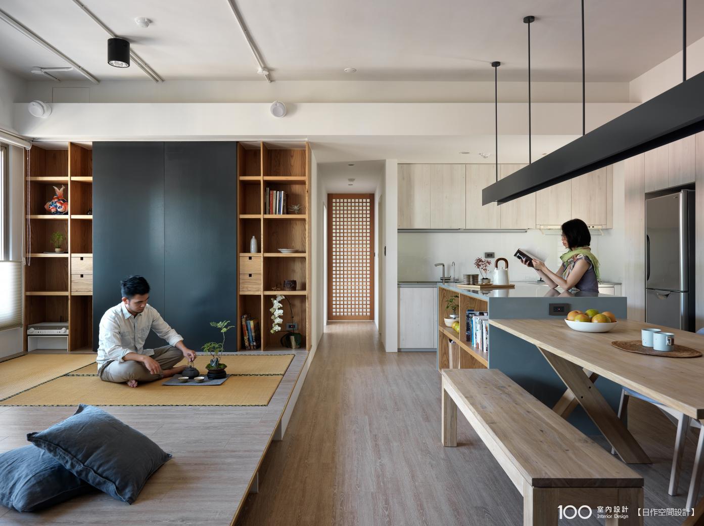 日式禪風客廳