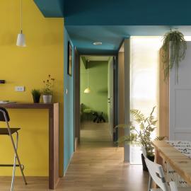 用色彩滿足你對家的想像..