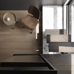现代风装修效果图:享受光感的Minimum U house