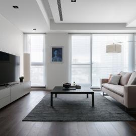藝廊感的輕美式氛圍居家宅