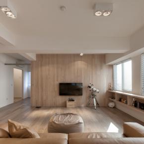 日式禅风装修效果图:舒适的LDK简洁宅