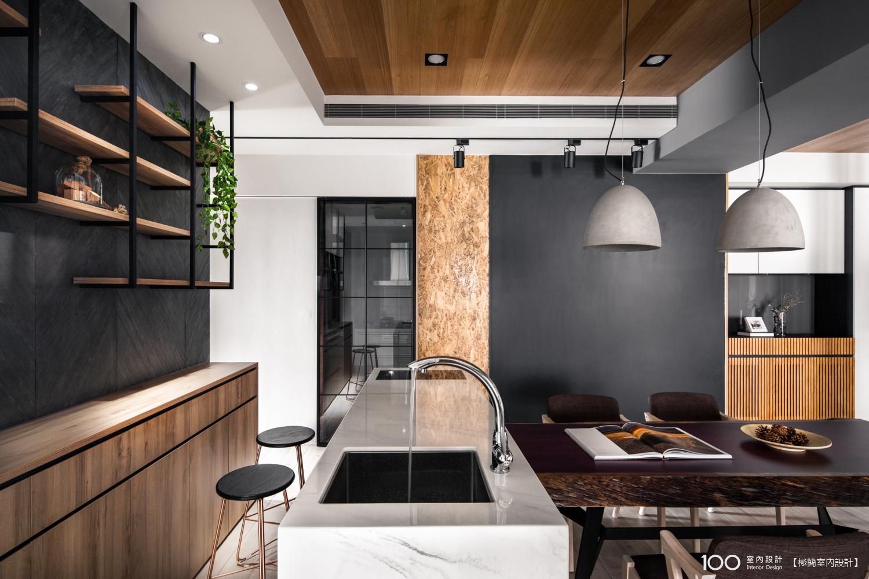 簡約風廚房