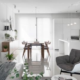 純白的簡約居家宅