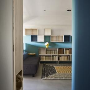 现代风装修效果图:回廊之家