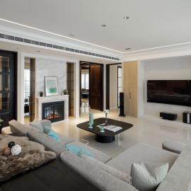 百坪暖心的現代風居家宅