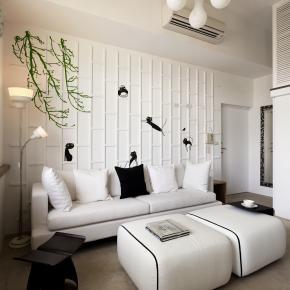 简约风装修效果图:18.5坪现代简约的阳光好宅
