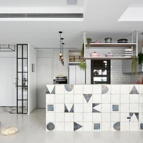 现代风装修效果图:ferm house