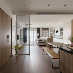 现代风装修效果图:退休生活的好宅空间