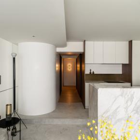 现代风装修效果图:Residence