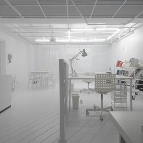 简约风装修效果图:Office White