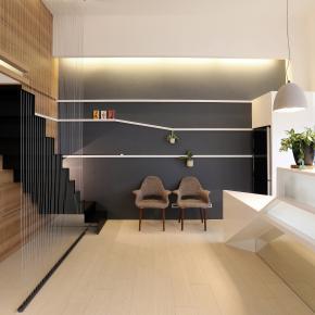 现代风装修效果图:滨海度假宅