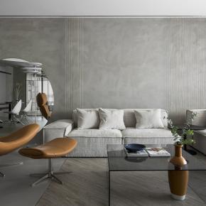 重组东西方元素,体现当代质朴现代宅