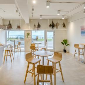 休闲多元风装修效果图:白屋。咖啡SHOP
