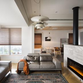 北欧风装修效果图:45坪舒适北欧宅