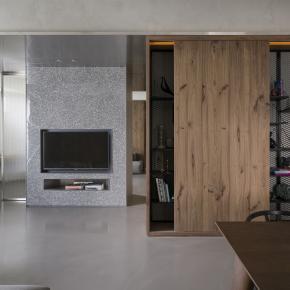 现代风装修效果图:25坪简约舒适度假宅