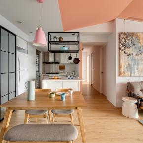 休闲多元风装修效果图:Macaron House
