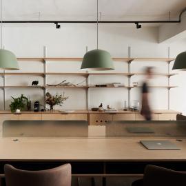 以家為概念的新創辦公室