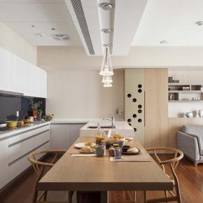 現代工法的日式小家居