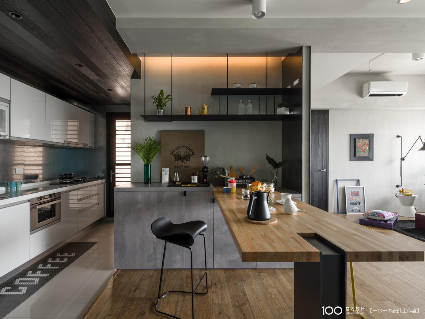 LOFT風廚房