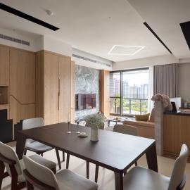 質材混搭 獨樹一幟的24坪現代宅
