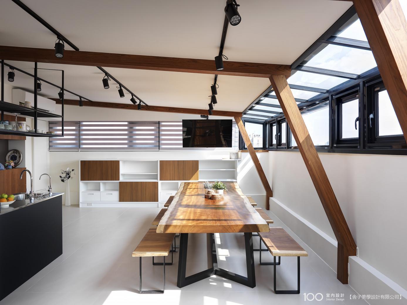 工業風餐廳