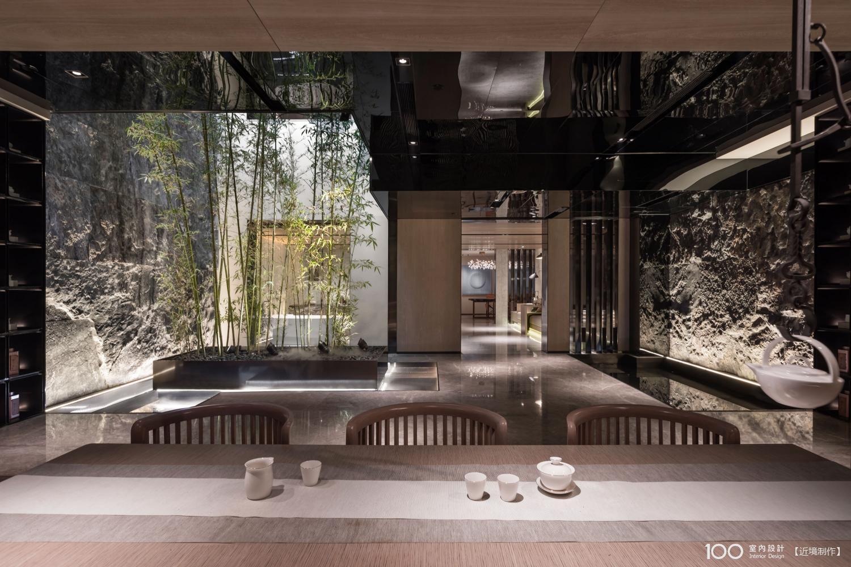 現代風庭院