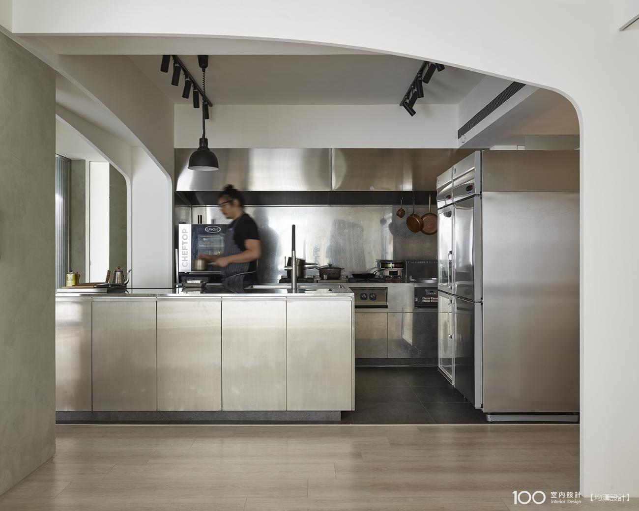 北歐風廚房